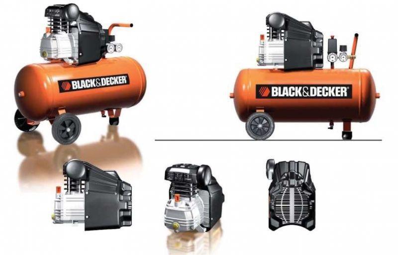 Компресор за въздух Black&Decker 50л-2hp.- 2 години гаранция