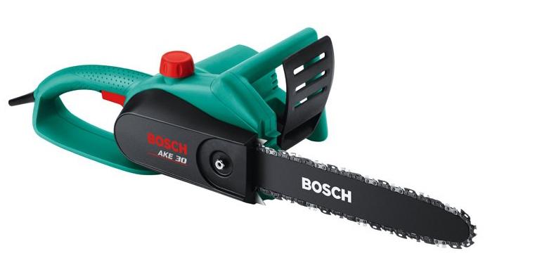 Трион верижен електрически Bosch 1.8 кW - 2 години гаранция=внос от Германия
