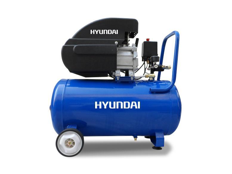 Компресор за въздух HYUNDAI -24л.- 2 години гаранция | Rudimpex.com