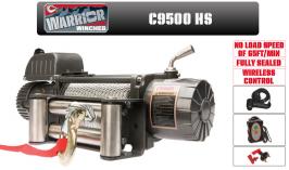 Електрическа лебедка CHAMPION /  WARRIOR - 12V  - 4309kg/ 9500 LBS PERFORMANCE - CHAMPION WINCH - внос от Англия - 1 година гаранция | Rudimpex.com
