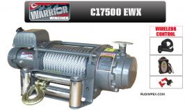 Електрическа лебедка CHAMPION / WARRIOR  17500 EWX -12V- 7938 kg/ 17500 LBS - внос от Англия - 2 години гаранция   | Rudimpex.com.