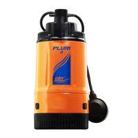 """City Pumps PLURI 2, Помпа потопяема за дълбоки водоеми с поплавък Q=0.60-4.80 m3/h, H=38.0-5.0 m, 1 1/4"""", 10м зах. кабел"""