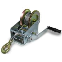 Ръчна лебедка Rudimpex M2000 - 907 кг / 2000LB winch с 10 метра стоманено въже - за автомобил - лодка -  ATV - платформа  - 00518 | Rudimpex.com