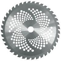 Циркулярен диск за моторна коса / храсторез с 40 зъба за рязане на храсти, къпини, дебели треви