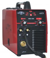 Комбинирано 2 в 1 MIG/MMA - 200А - 7,5 kVA - Професионално - Инверторен Електрожен 200A + Телоподаващо устройство  200A за Газово и Безгазово заваряване  | Rudimpex.com
