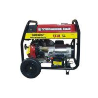 Бензинов генератор 7.5 KW за монофазен ток с ел. стартер и транспортна количка - 2 години гаранция