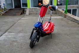 Детски Скутер MМ електрически сгъваем 350W Red до 50 кг товар