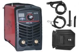 Инверторен електрожен MMA160 - IGBT- ARC- 160 реални ампера - 5.6 kVA - с цифров LED дисплей - маска - ръкохватка - кабели - електроди до 3.2 мм - високо качество - 1 година гаранция | Rudimpex.com