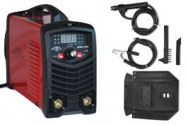 Инверторен електрожен с цифрово управление MMA200 - IGBT - ARC - VRD - 6.2 kVA - 220V - 200 реални ампери - горещ старт - цифров LED дисплей - маска - ръкохватка - кабели - електроди до 4 мм - високо качество - 1 година гаранция | Rudimpex.com