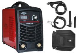 Професионален инверторен електрожен MMA250 - IGBT - ARC - 6.7 kVA - 220V - 250А реални ампери - горещ старт - с цифров LED дисплей - маска - ръкохватка - електроди до 5 мм - високо качество - 1 година гаранция | Rudimpex.com