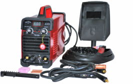 Инверторен електрожен с функция Аргон  - TIG - MMA - IGBT - ARC - 250A - горещ старт - реални ампери - аксесоари - високо качество - 1 година гаранция | Rudimpex.com