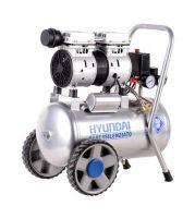 Компресор за въздух 24л безмаслен / обезшумен HYAC 24-1S HYUNDAI
