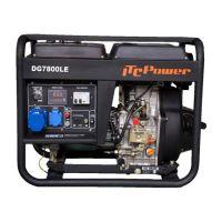 Мотогенератор дизелов монофазен DG 7800LE - 6,3 kW, ел. стартер ITC Power
