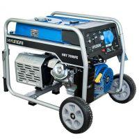 Мотогенератор HHY 7000 FЕK - 5,5 kW, ел. стартер HYUNDAI