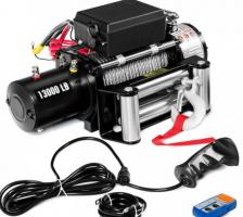Електрическа лебедка 12V - 5909кг / 13000LB | Rudimpex.com - 2 години гаранция