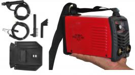 SUPER MINI Инверторен електрожен GREENYARD PRO-AR200S - IGBT - ARC - 6.5 kVA - 220V - 200 ампера - горещ старт -  маска за електрожен - ръкохватка  -  кабели - електроди до 4 мм - високо качество - гарaнция | Rudimpex.com