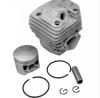 комплект бутало и цилиндър  за моторен трион - резачка за дърва с двигател 52 куб.см