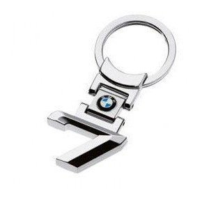 new chrome car logo keyring/keychain BMW 7 series