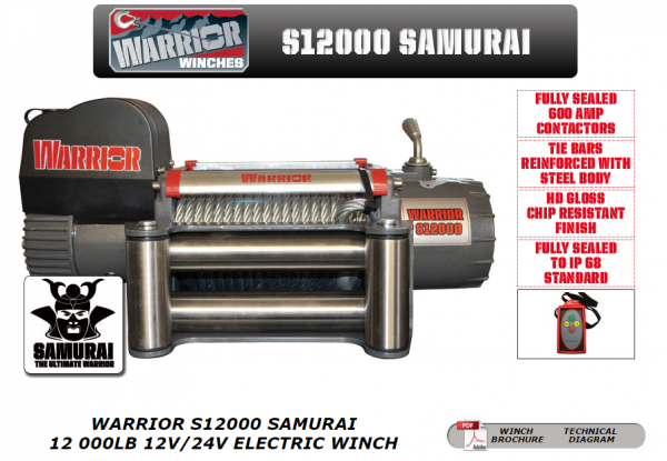 Electrical winch 4309 kg /9500 lb winch champion winch