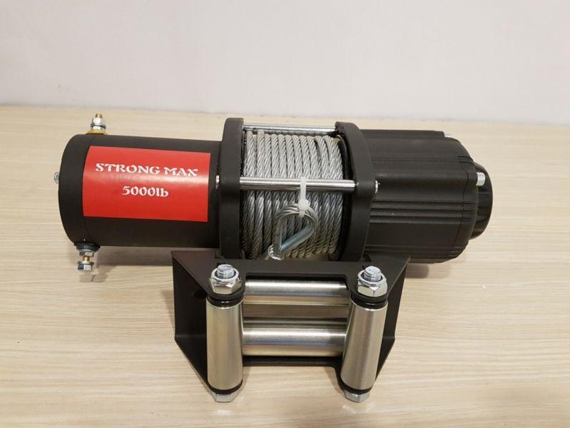 Електрическа лебедка Strong Max 12 V - 5000 Lb / 2265 кг. - 1 година гаранция| Rudimpex.com
