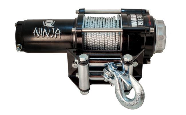 Електрическа лебедка WARRIOR NINJA 12V 907кг/ 2000 LBS STANDARD - за лодки, джетове, АТВ - Внос от Англия- 1 година гаранция | Rudimpex.com