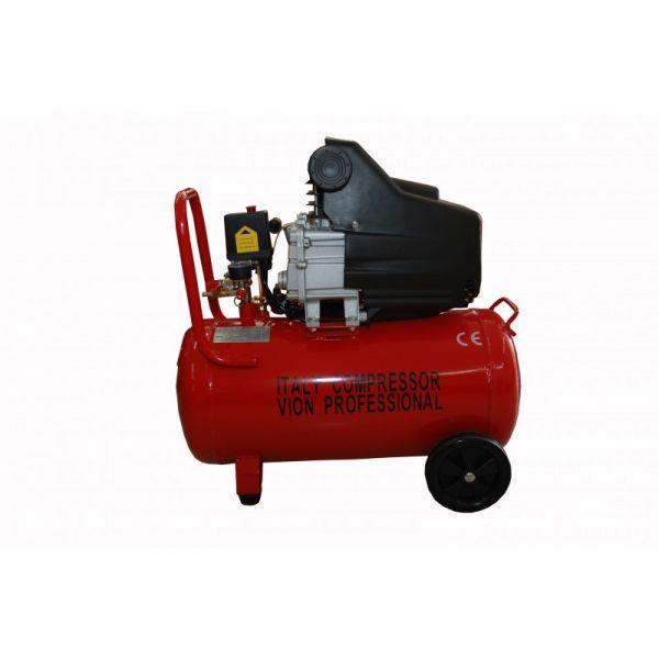 Компресор за въздух Vion Professional - Резервоар 50 литра, 8 бара, дебит на въздух 130 л/мин, 1800 W | Rudimpex.com