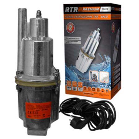 Помпа тип Бибо 250W PREMIUM, за Битови Нужди , 1080 л/ч, Сребрист - 2 години гаранция