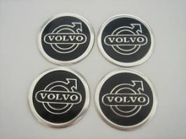 4 x 60mm VOLVO Sticker Emblem Logo Rimsticker
