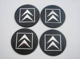 4 x 60mm CITROEN Sticker Emblem Logo Rimsticker