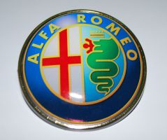 New ALFA ROMEO Logo Emblem Badge