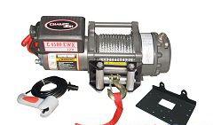 Electrical winch 24v 2041 kg /4500 lb winch performance champion winch