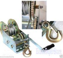 Manual winch 1361kg/3000LB winch