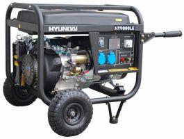 ГЕНЕРАТОР ЗА ТОК- 6,6 kW, ел. стартер HYUNDAI -монофазен - бензинов - AVR- 2 години гаранция | Rudimpex.com