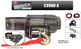 Manual winch 1134 kg /3500 lb winch champion