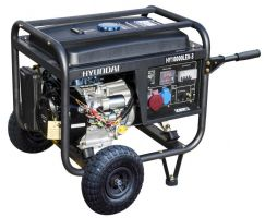ГЕНЕРАТОР ЗА ТОК трифазен HYUNDAI - мотогенератор -10,25 kVA, ел. стартер - AVR - 2 години гаранция | Rudimpex.com