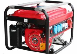 ГЕНЕРАТОР ЗА ТОК  2.2 KW - за трифазен ток - бензин - AVR  - 1 година гаранция | Rudimpex.com