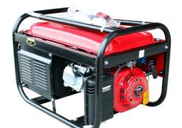 ГЕНЕРАТОР ЗА ТОК 3.5 KW - монофазен - бензин - AVR - ръчен старт-1 година гаранция| Rudimpex.com