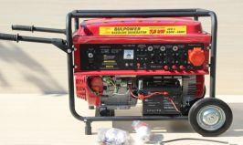 Rudimpex 2015011 Генератор за ток 7.0KW - бензинов - трифазен- с ел. стартер - 18 месеца гаранция | Rudimpex.com