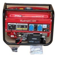 ГЕНЕРАТОР ЗА ТОК 3.5 KW - монофазен - бензин - със ел. стартер -AVR- 1 година гаранция | Rudimpex.com