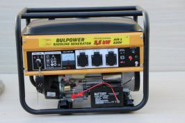 Генератор за ток 3.5 KW със стартер и дистанционно- 1 година гаранция