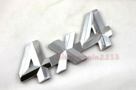 Emblem 4x4 chrome BADGE JEEP 4WD OFFROAD SUBARU