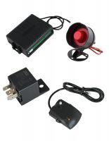Автоаларма (имобилайзер + централно заключване + 2 броя дистанциони + шоков датчик)с 50% отстъпка от Rudimpex.com   модел G10/G2212