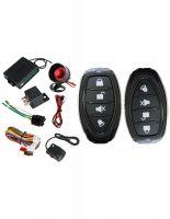 Car Alarm (+ immobilizer central locking remote control number +2 + shock sensor) for 39 lev instead of 79 lev 50% discount Rudimpex.com | model G2245