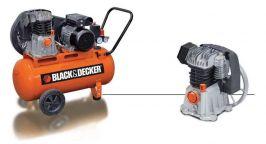 Компресор за въздух Black & Decker 100л - 2 години гаранция | Rudimpex.com