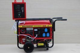 Генератор за ток  - 7.5KW - Бензинов - Монофазен -с вградена автоматика и автоматична старт-стоп система-1 година гаранция  | Rudimpex.com