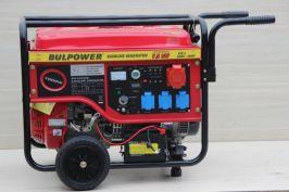 Генератор за ток 7.5KW - бензинов - трифазен- с ел. стартер - 18 месеца гаранция | Rudimpex.com