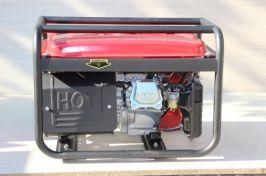 Генератор за ток 3.5 KW с ръчен старт бензинов- 1 година гаранция