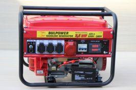Генератор за ток 3.5 KW монофазен и трифазен ток бензин- 1 ГОДИНА ГАРАНЦИЯ | Rudimpex.com