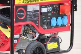 Генератор за ток  -6,0  KW - Бензинов - Трифазен - с вградена автоматика- 18 месеца гаранция | Rudimpex.com