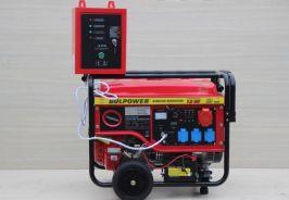 Генератор за ток - 7.5KW - Бензинов - Трифазен- с оригинална вградена автоматика и автоматична старт-стоп система | Rudimpex.com